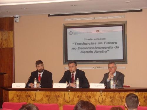 Conferencia-coloquio: Tendencias de futuro no desenvolvemento da banda ancha