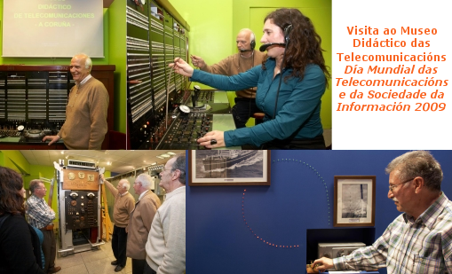 Visita ao Museo Didáctico das Telecomunicacións